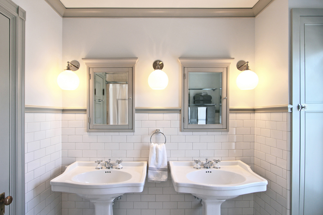Victorian bathroom quarter design studio for Historic bathroom remodel