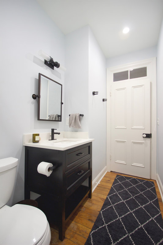 QUARTER design studio | Lawrenceville Rowhouse | Pittsburgh, PA